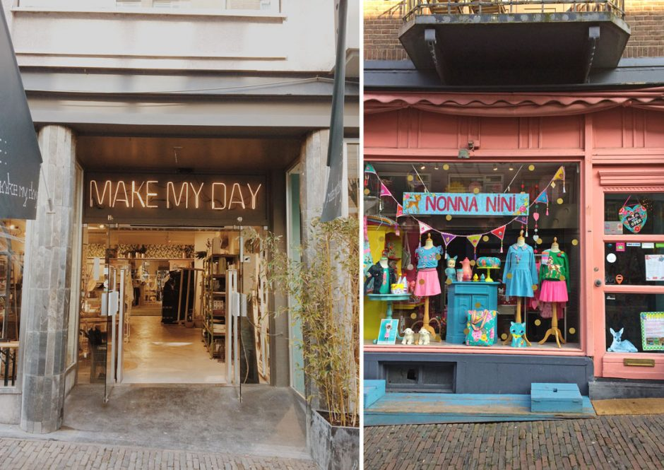 Stikke Hezelstraat is great for shopping in Nijmegen