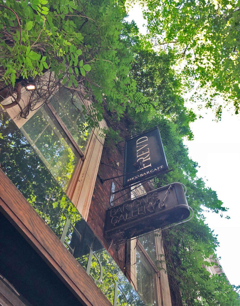 Freud Bar is a secret cocktail bar in Central London