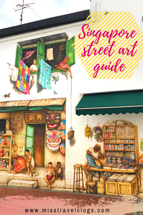 Singapore street art guide