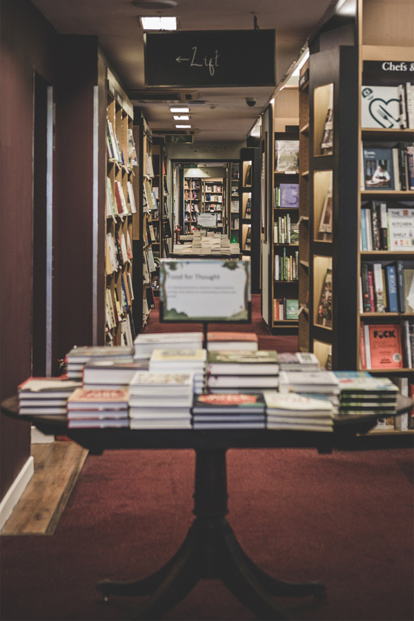 Waterstones Piccadilly is the largest bookshop in London
