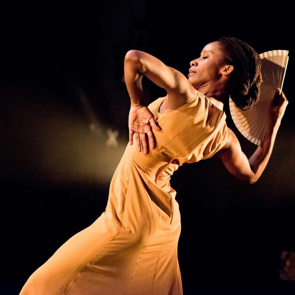 portrait of flamenco dancer Yinka Esi Graves
