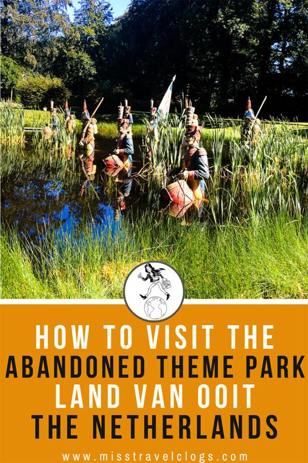 abandoned amusement park the Netherlands Land van Ooit
