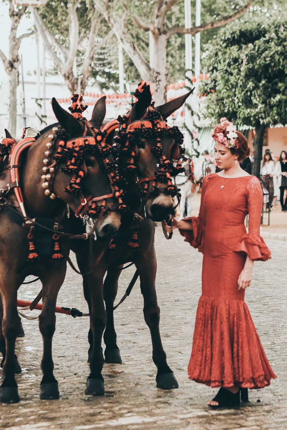 Traditional April Fair in Seville