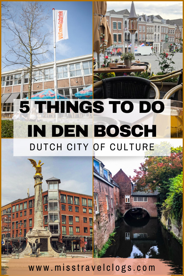 Save these cultural tips about the city of Den Bosch in the Netherlands on Pinterest