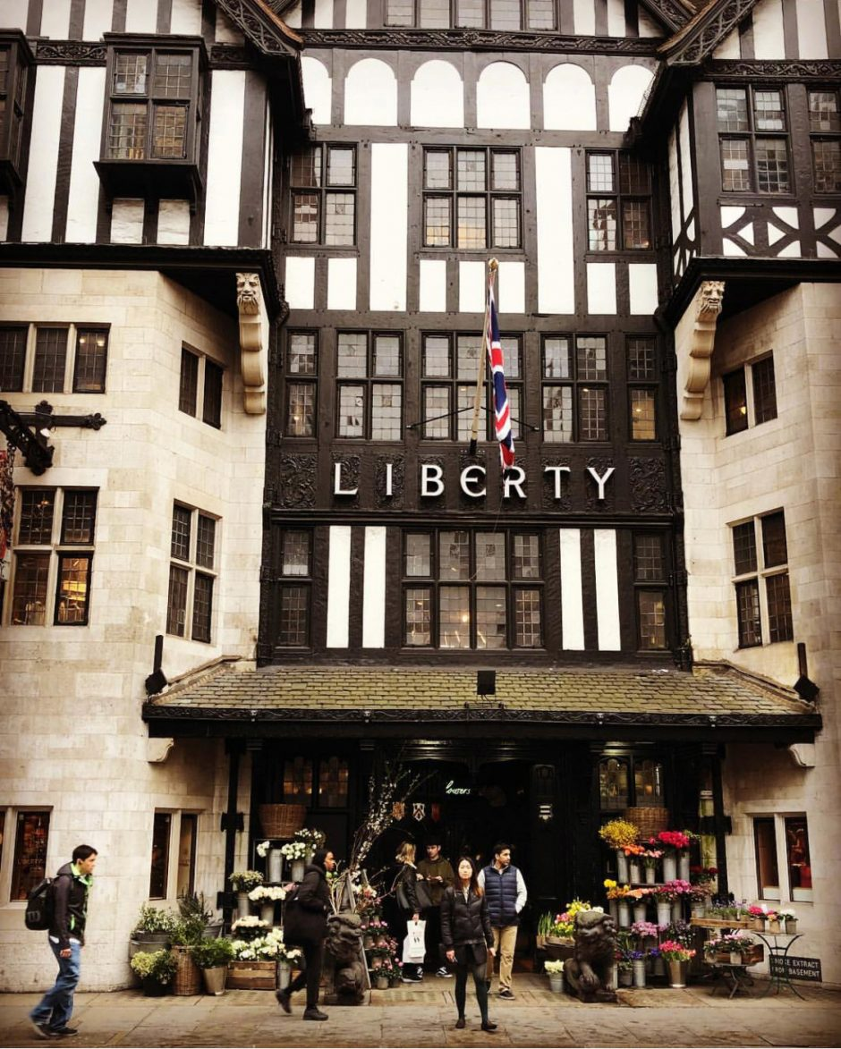 Department store Liberty in London