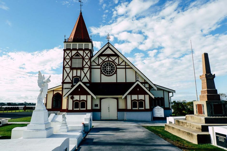 St Faith's Anglican Church in Rotorua