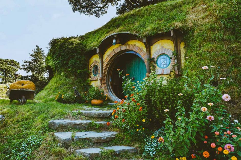 Bilbo Baggings's home in Hobbiton