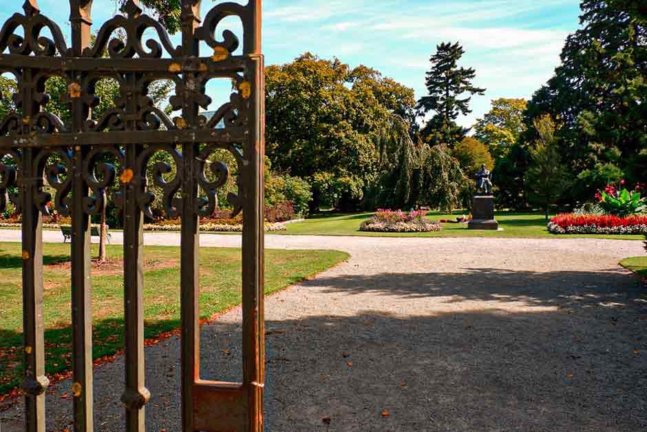 Entrance to the Christchurch Botanic Gardens