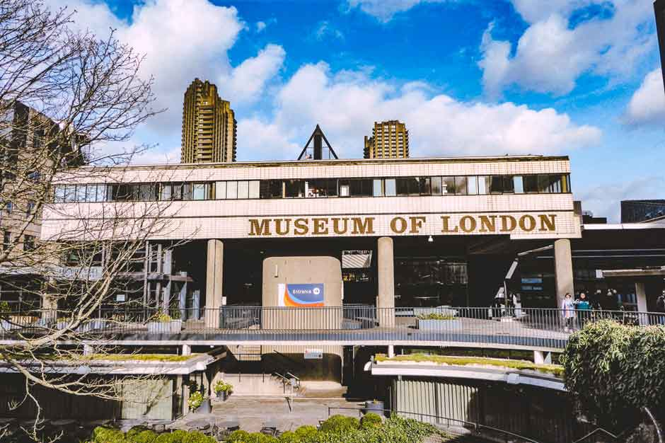 Exterior of the Museum of London
