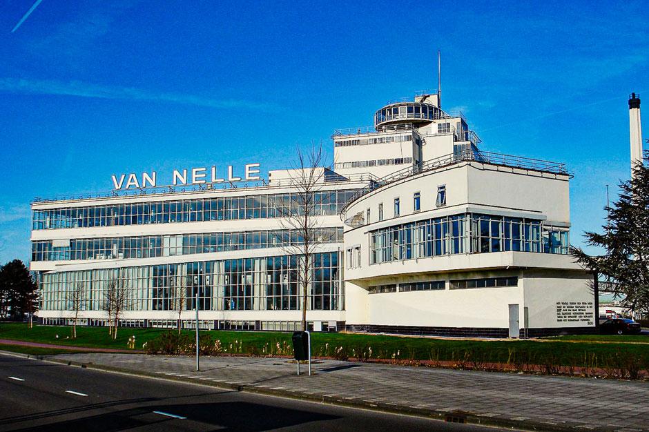 The Van Nelle Fabriek in Rotterdam, the Netherlands